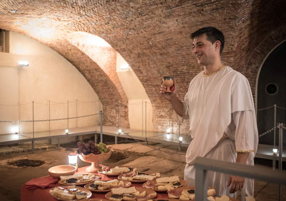 aperitif of ancient Romans