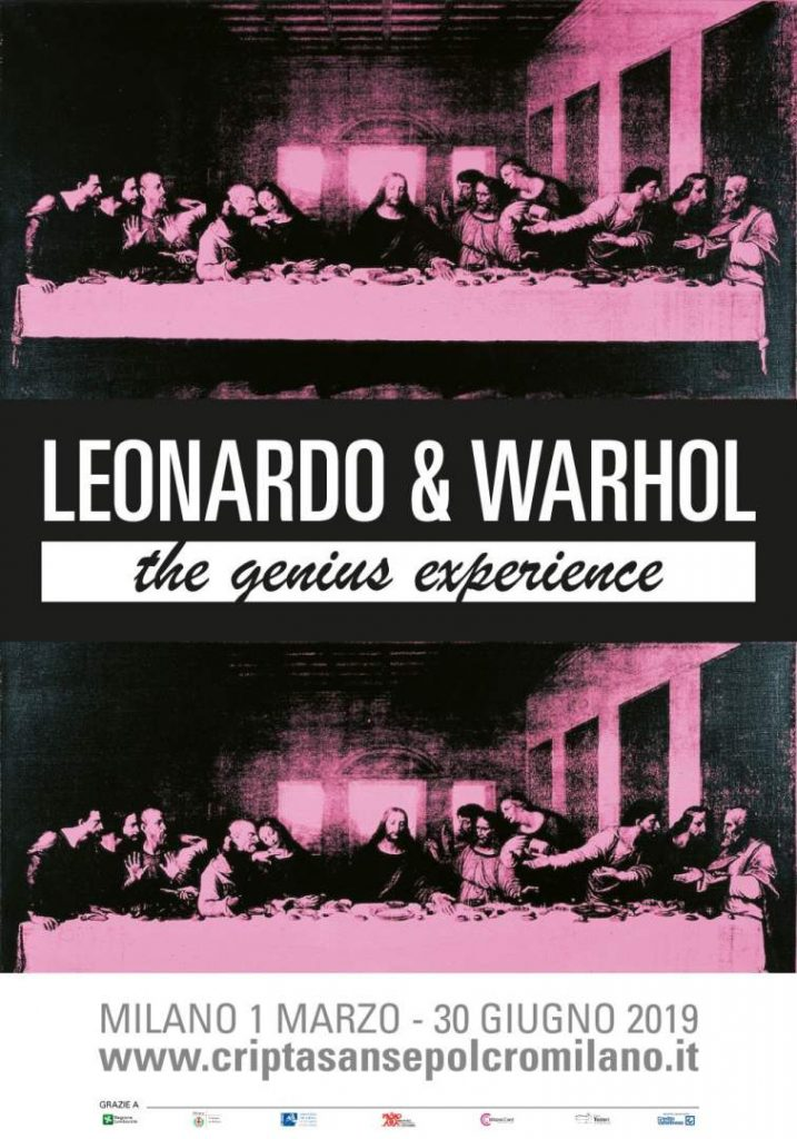 Leonardo and Warhol in Milan